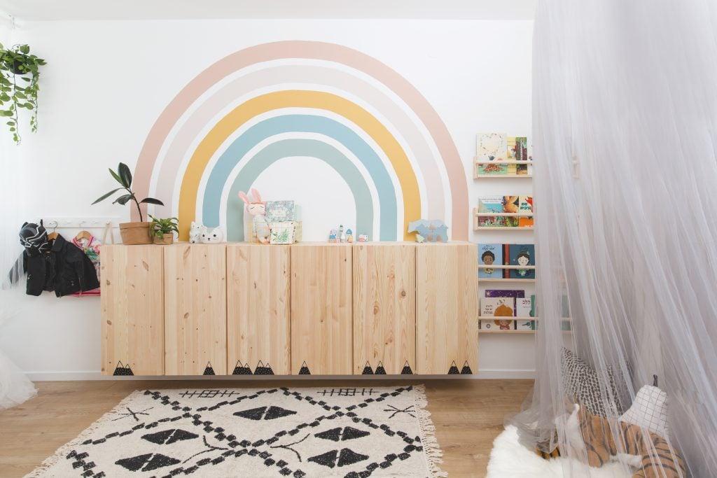 עיצוב חדר ילדים של המעצבת רוני ארליך